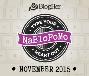 NaBloPoMo November 2015 :)